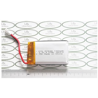 Pin Flycam_Lipo 3.7V 1100mAh 103048, 15C hàng nhập khẩu OEM_LiBa