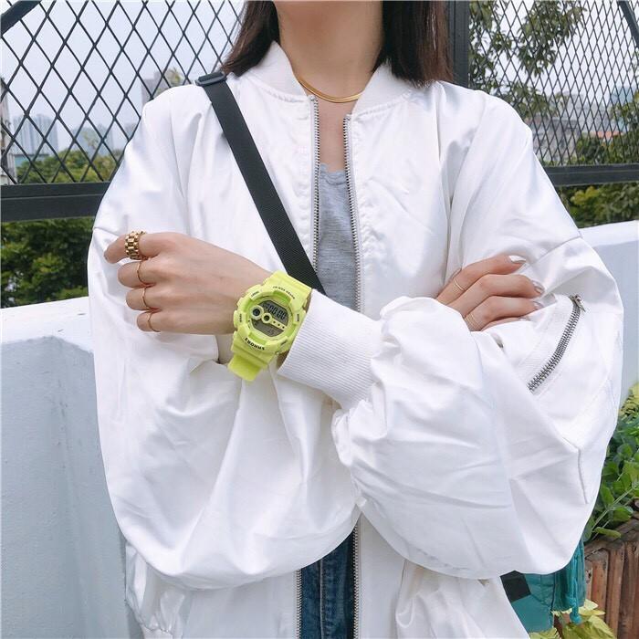 ( Giá sỉ ) Đồng hồ thể thao nam nữ SHHORS dây silicon SCS475