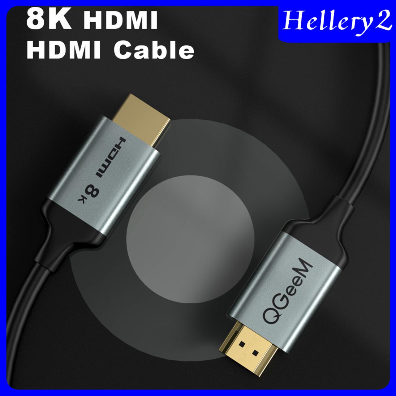 Dây Cáp Truyền Dữ Liệu Tốc Độ Cao Helery2) Hdmi 2.1 8k 48gbps