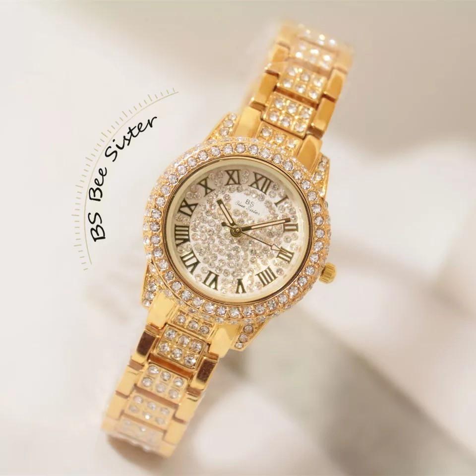 Đồng hồ nữ Beeister hàng chính hãng 8039 dây kim loại