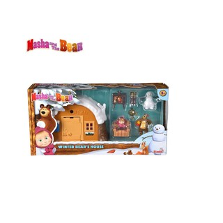 Búp bê Masha Winter Bear s House 109301023
