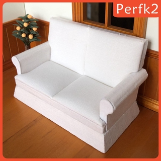 2 Mô Hình Ghế Sofa Tỉ Lệ 1: 12 Trang Trí Nhà Búp Bê