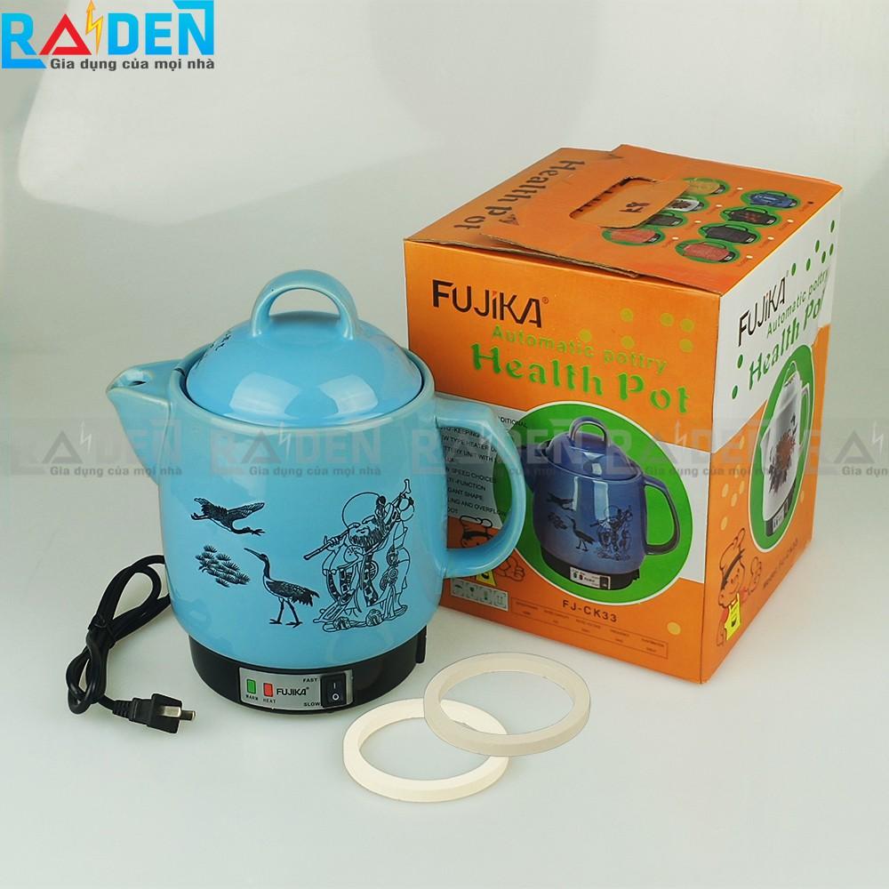 Siêu thuốc tự động 3L Fujika FJ-K33 K8 tự chuyển giữ ấm khi sắc thuốc còn 1 chén
