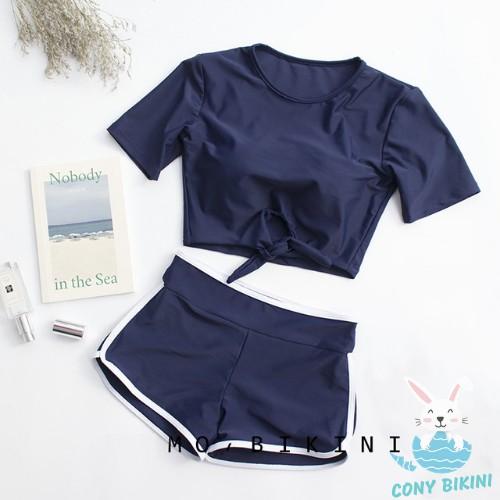 (Hà Nội) Bộ Đồ Bơi Đi Tắm Biển Nữ Bikini 2 Mảnh (1 Set Áo Bra Và Quần Lót) 1903 II KIT Sport VN NAM