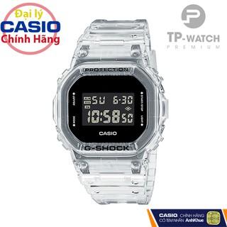 Đồng Hồ Nam Casio G-Shock DW-5600SKE-7DR Chính Hãng Casio G-Shock DW-5600SKE-7D Transparent Pack Dây Nhựa thumbnail
