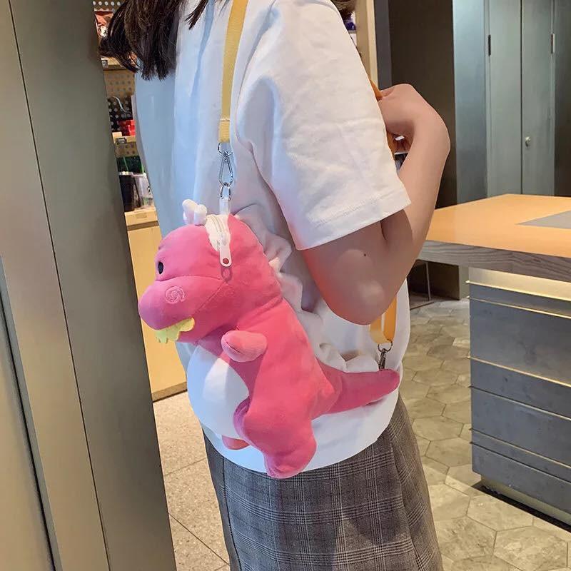 Túi khủng long kiểu đeo chéo nữ Hàn Quốc