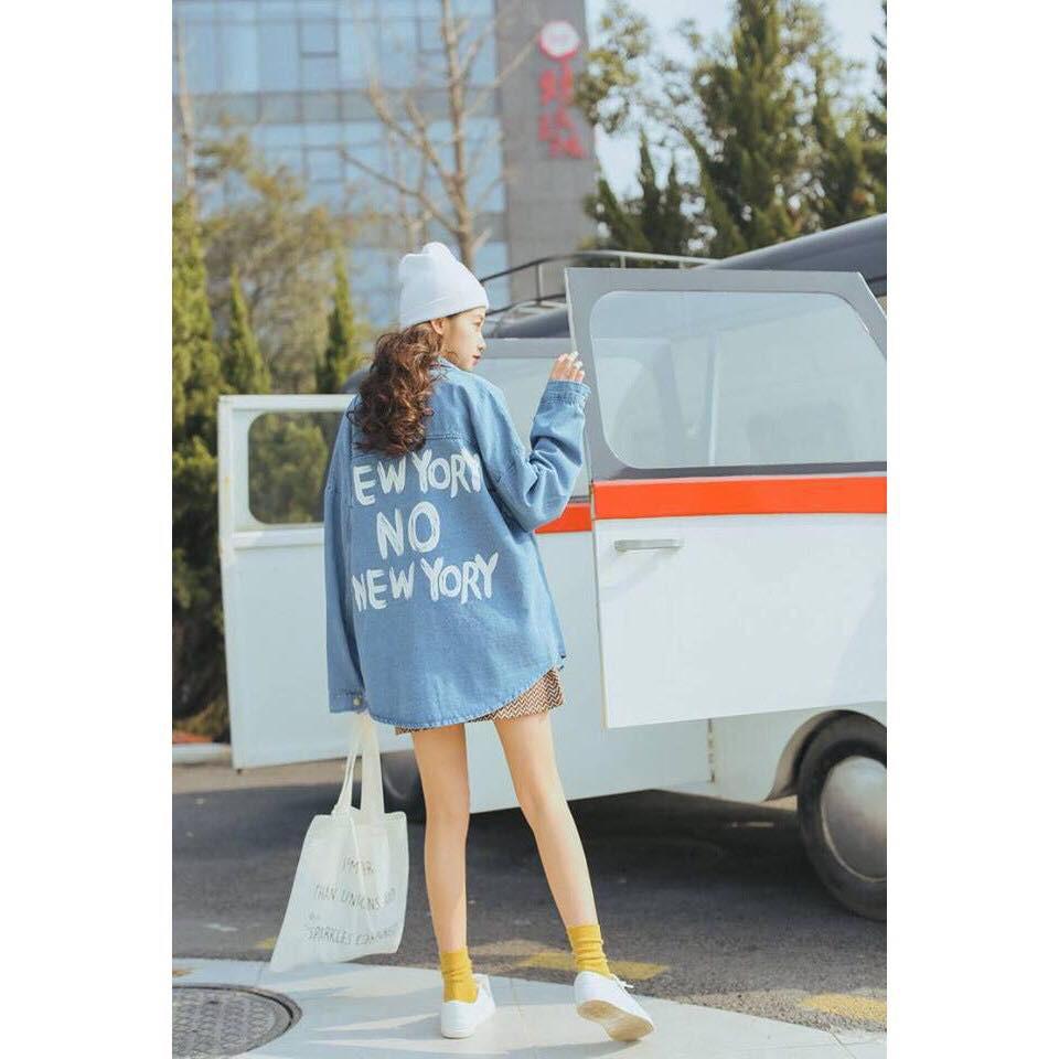 Áo khoác jean nữ ms01