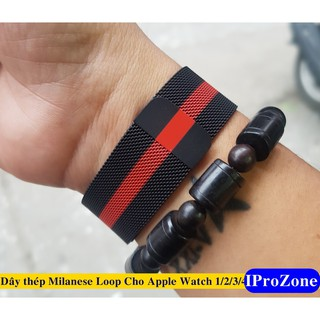 Dây Milanese Loop cho Apple Watch size 38/40/42/44