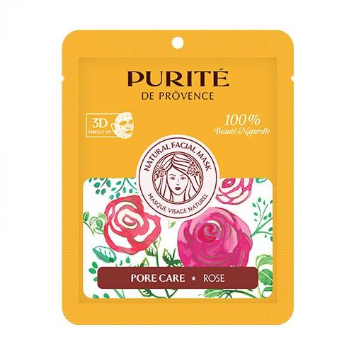 Mặt Nạ 3D Thiên Nhiên Hoa Hồng Purité De Provence se khít lỗ chân lông 27g - 10033870 , 1299391894 , 322_1299391894 , 35000 , Mat-Na-3D-Thien-Nhien-Hoa-Hong-Purite-De-Provence-se-khit-lo-chan-long-27g-322_1299391894 , shopee.vn , Mặt Nạ 3D Thiên Nhiên Hoa Hồng Purité De Provence se khít lỗ chân lông 27g