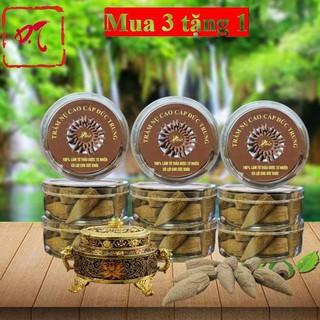 Trầm hương thác khói- Nụ trầm hương 100% làm từ thảo mộc tự nhiên có lợi cho sức khỏe