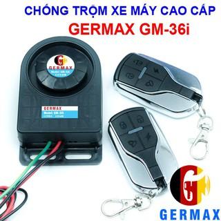 Chống Trộm Xe Máy Germax GM-36i, Tự Lắp Đặt Dễ Dàng - Chống Trộm Hiệu Quả