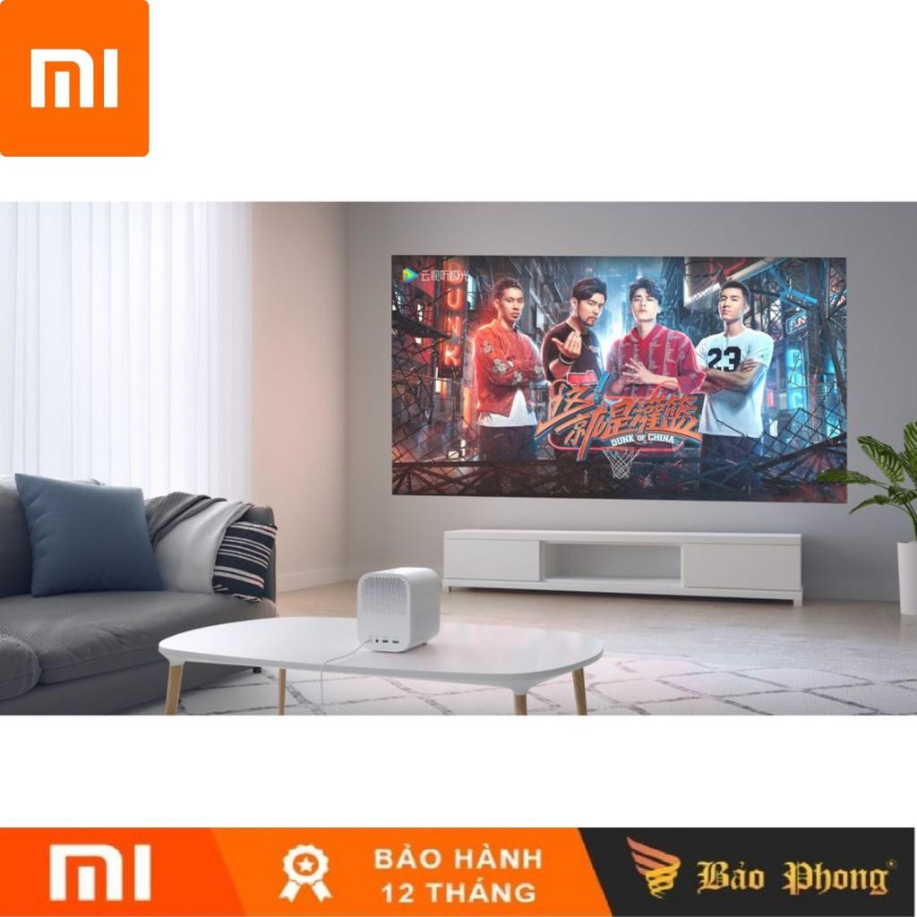 [Mã ELCLXU8 hoàn 8% xu đơn 500K] Máy Chiếu Thông Minh Xiaomi Mijia Full HD 4K TV Video Proyector 1080P- BH 1 năm