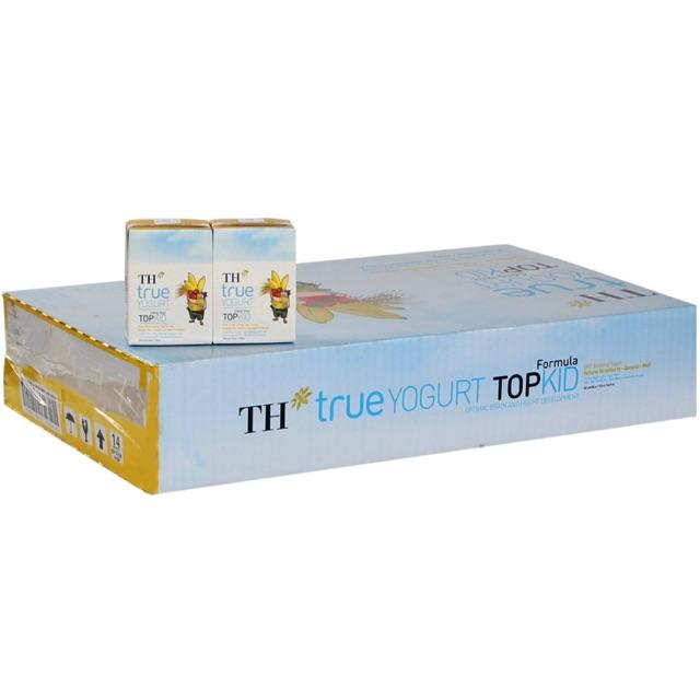 Sữa TH True Yourt Topkid Hương Dâu Chuối 110ml (thùng 48 hộp)