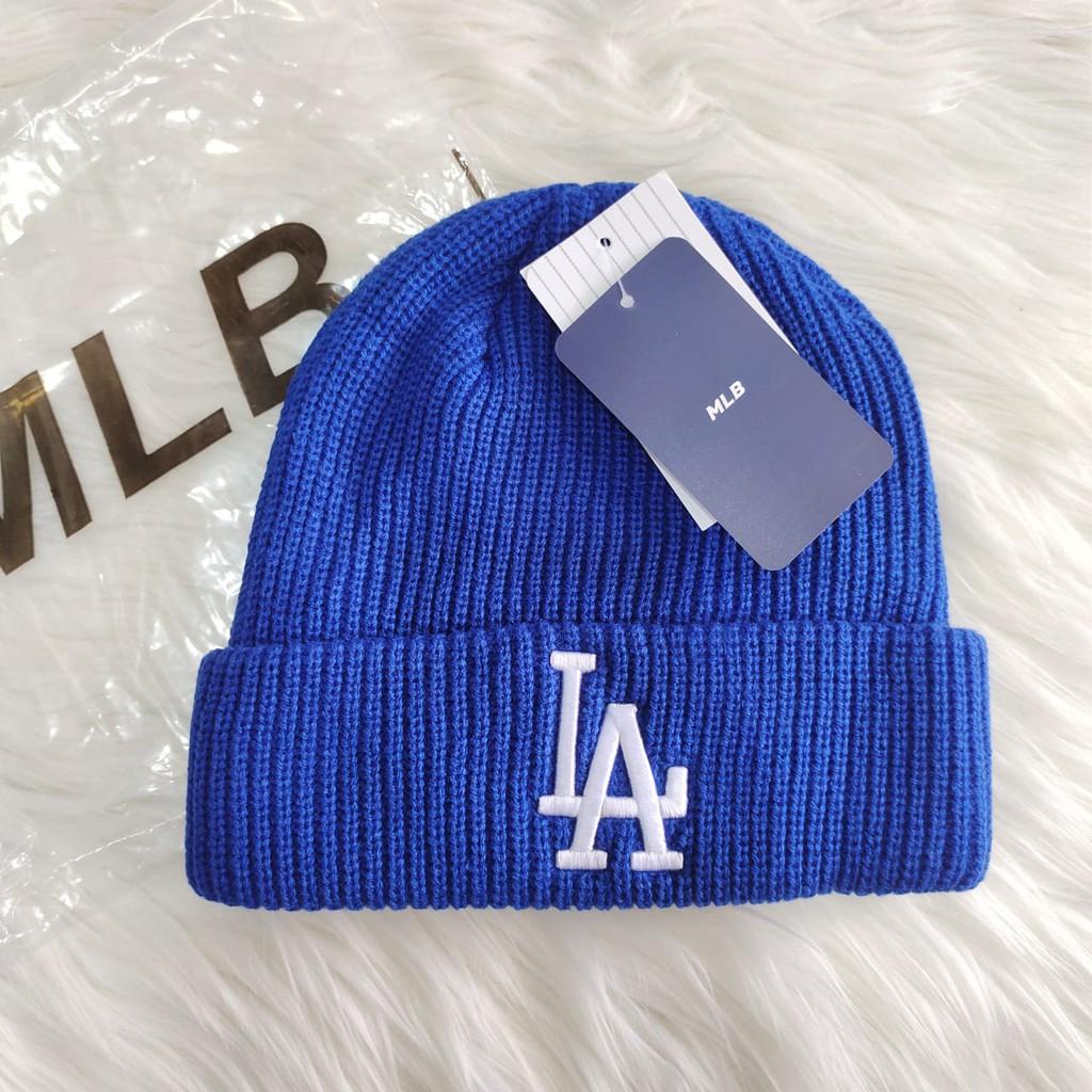 Mũ nồi màu xanh dương K-142 LA MLB