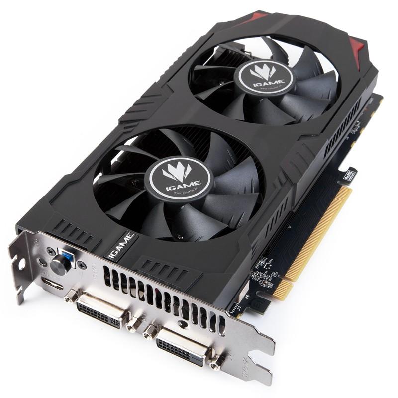 Card màn hình Colorful GeForce GTX 750 iGame (iGame750 U-Twin-1GD5 V2)