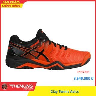 Giày Tennis Asics Nam GEL-RESOLUTION 7 E701Y.801 (Cam) thumbnail