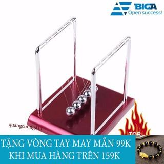 Shop Quang Cường – Con lắc newton đế gỗ khung thép chống rỉ