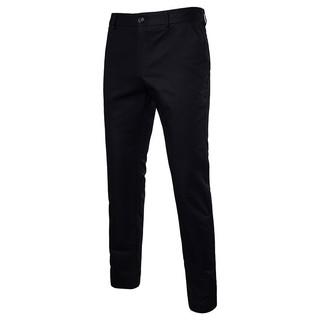 Hollow men's casual pants men's solid color straight pants K66