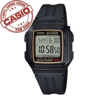 Đồng hồ nam dây nhựa Casio Standard chính hãng Anh Khuê F-201WA-9ADF