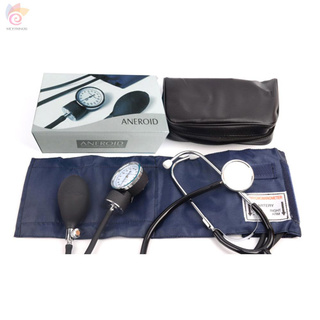 ET Manual blood pressure watch with stethoscope blood pressure meter arm sphygmomanometer listening to fetal heart double tube double head stethoscope