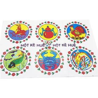 ✔ Bộ đồ chơi lắc bầu cua cá cọp xúc xắc bằng xốp (st.tm)