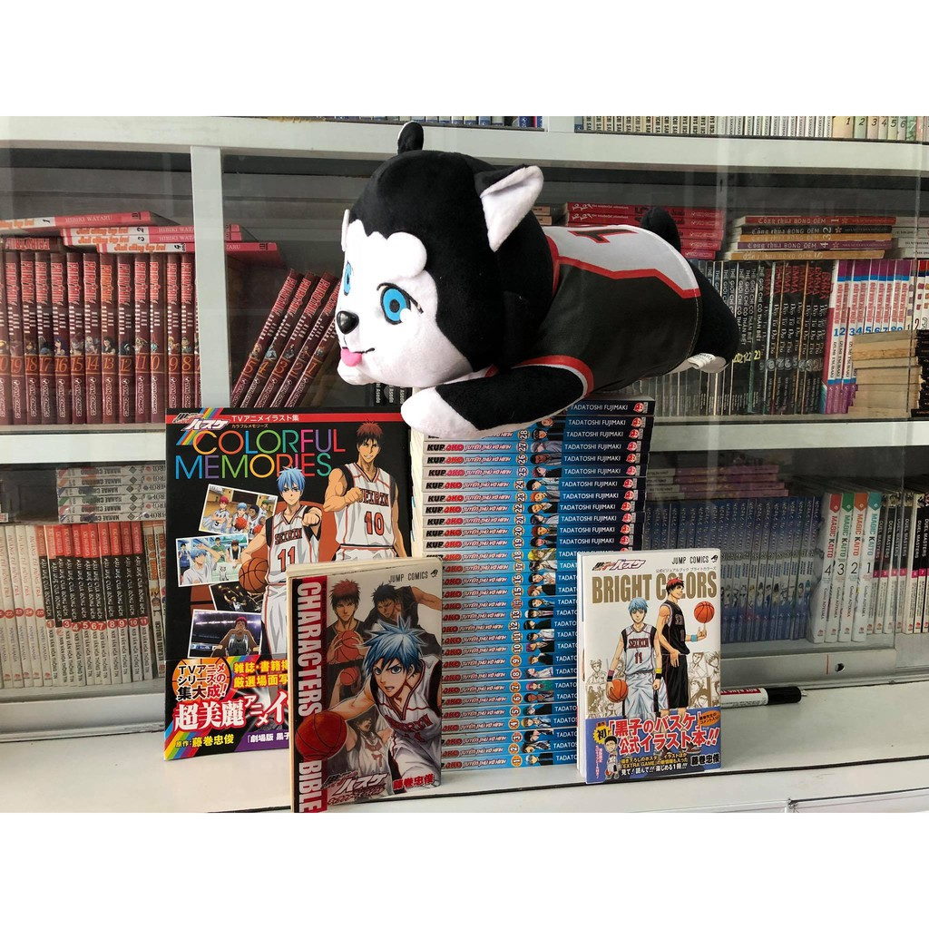 Sách - Artbook Kuroko Tuyển thủ bóng rổ - 2584592 , 1213398797 , 322_1213398797 , 170000 , Sach-Artbook-Kuroko-Tuyen-thu-bong-ro-322_1213398797 , shopee.vn , Sách - Artbook Kuroko Tuyển thủ bóng rổ