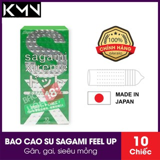 Bao Cao Su SAGAMI FEEL UP NHẬT BẢN_ HỘP 10 CHIẾC