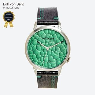 Đồng hồ unisex nam nữ Erik von Sant 003.005.C mặt tròn dây da 38mm thumbnail
