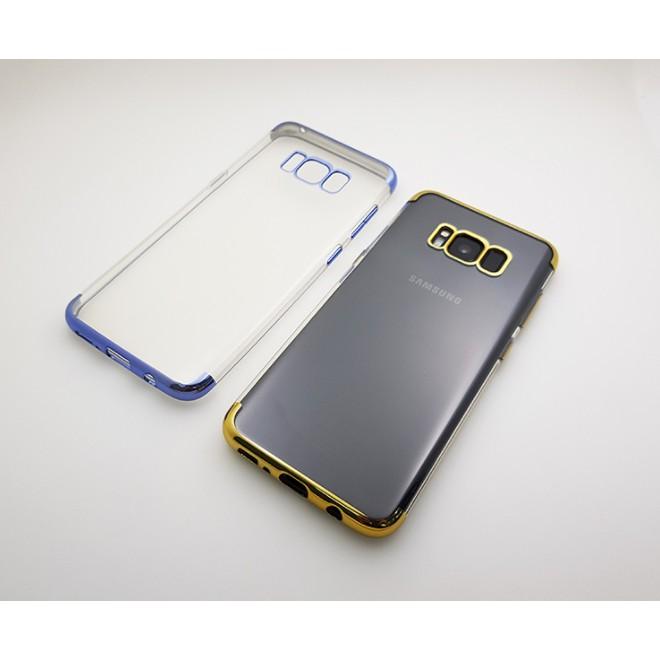 ốp lưng Galaxy S8 hiệu Baseus Glitter viền màu - chính hãng