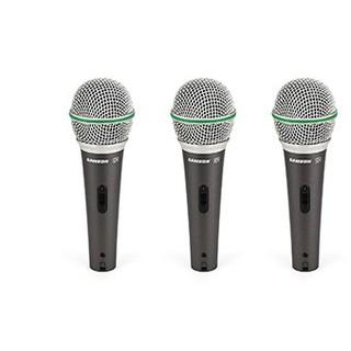 Bộ ba micro sân khấu Dynamic Samson Q63P