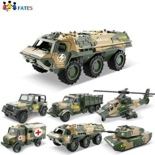 Kids Boys Simulate Military Series Alloy Car Educational Toy
