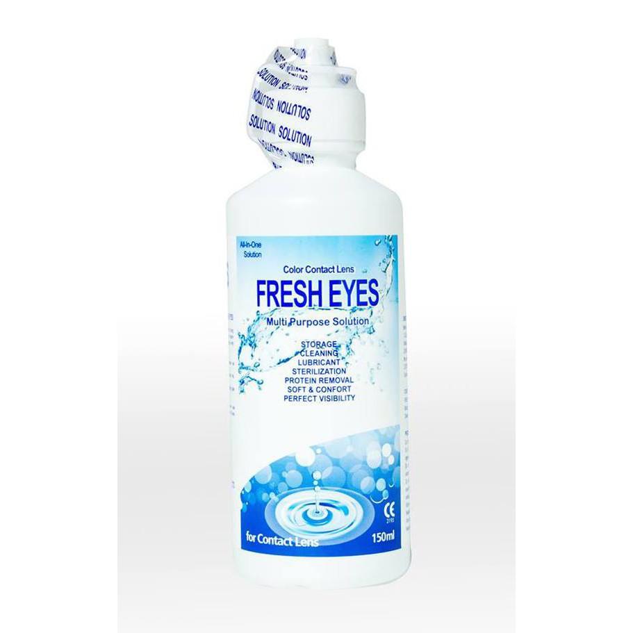 Nước ngâm lens xanh FreshEyes 150ml – Citylens