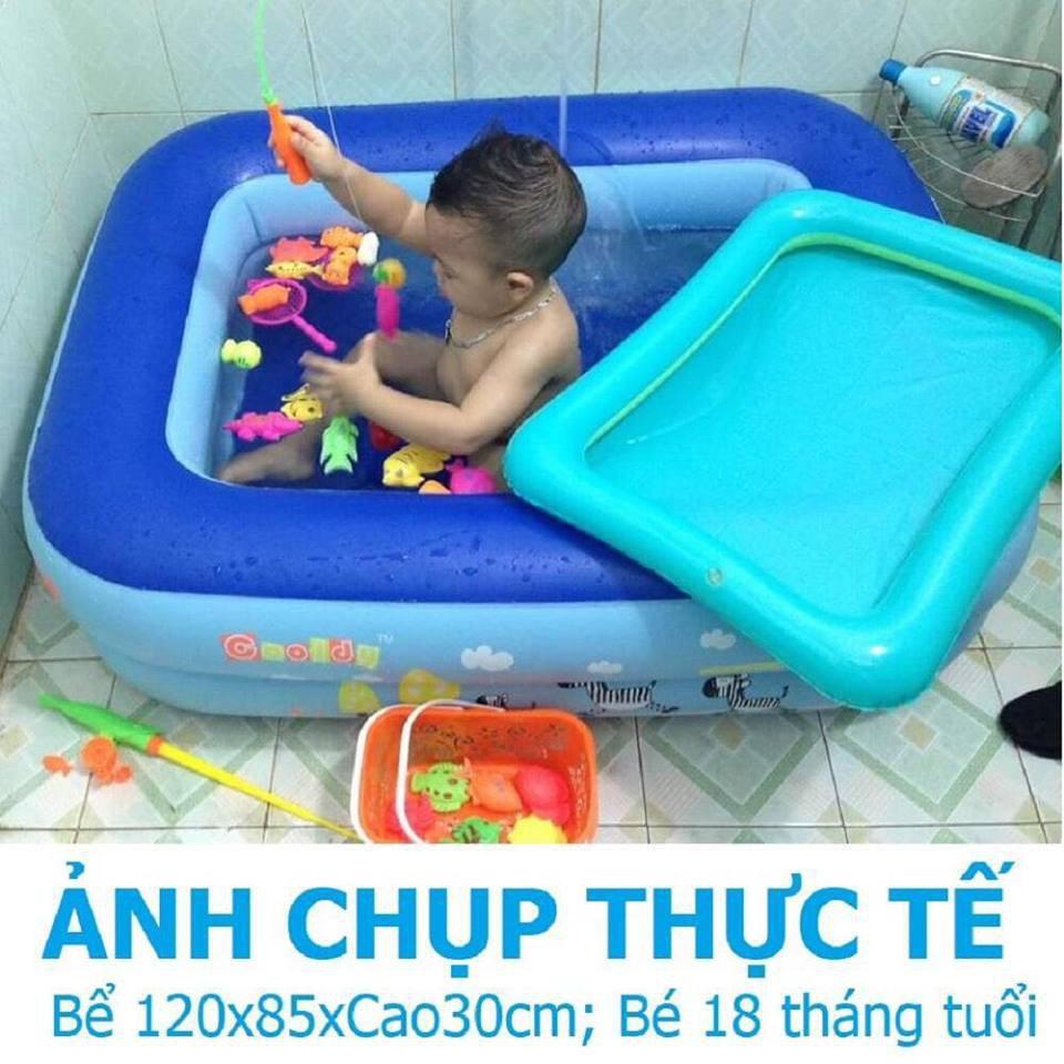 BỂ BƠI PHAO BƠI BƠM HƠI 120cm/130cm/150cm/180cm/210cm + 50 BÓNG NHỰA MỀM[giá siêu rẻ]