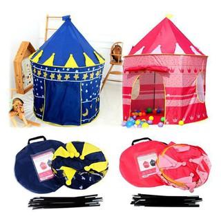 Lều công chúa hoàng tử cho bé yêu - lều chơi nhà chòi cổ tích không kèm bóng thumbnail