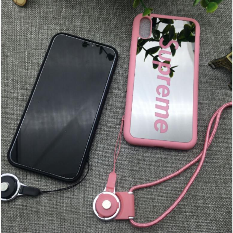 Baird Sup Plated Mirror Phone Case For Iphone Soft X Shell Tpu Creative Foreign Trade Couple