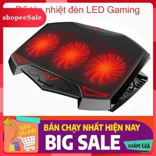 (Hàng Mới Về) Đế tản nhiệt laptop thương hiệu Nuoxi quạt cực mạnh , chạy cực êm, mát máy thumbnail