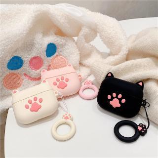 Vỏ Bảo Vệ Hộp Đựng Tai Nghe Airpods Pro Hình Chân Mèo Đáng Yêu