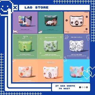 Case Vỏ Bao Đựng Tai Nghe Airpod 1&2/Pro Cover Tai Mèo – Vỏ Bao Airpod Chất Liệu Bằng Silicon Dẻo – LAG Store