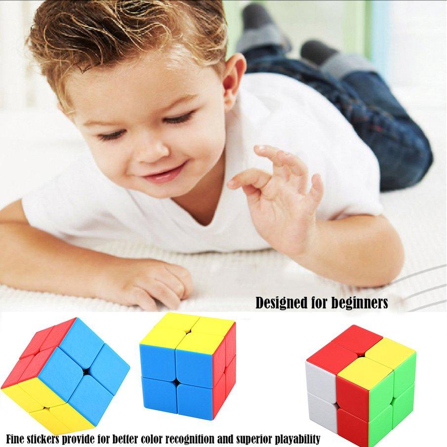 Đồ Chơi Khối Rubik 2 Mức Độ Ma Thuật Cho Bé