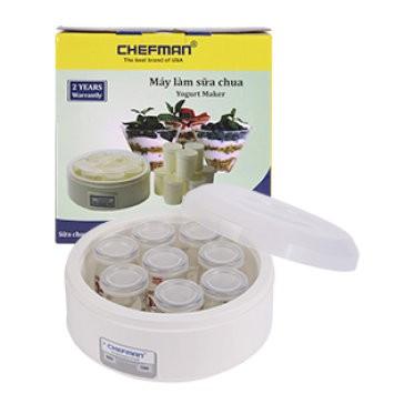 Máy làm sữa chua 8 cốc thủy tinh Chefman CM-302T - 2629805 , 617615871 , 322_617615871 , 309000 , May-lam-sua-chua-8-coc-thuy-tinh-Chefman-CM-302T-322_617615871 , shopee.vn , Máy làm sữa chua 8 cốc thủy tinh Chefman CM-302T