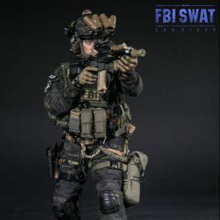 Mô hình lính 1/6 FBI của hãng damtoy.