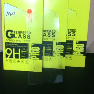Miếng dán màn hình Sony Xperia M4 kính cường lực /KCLI12