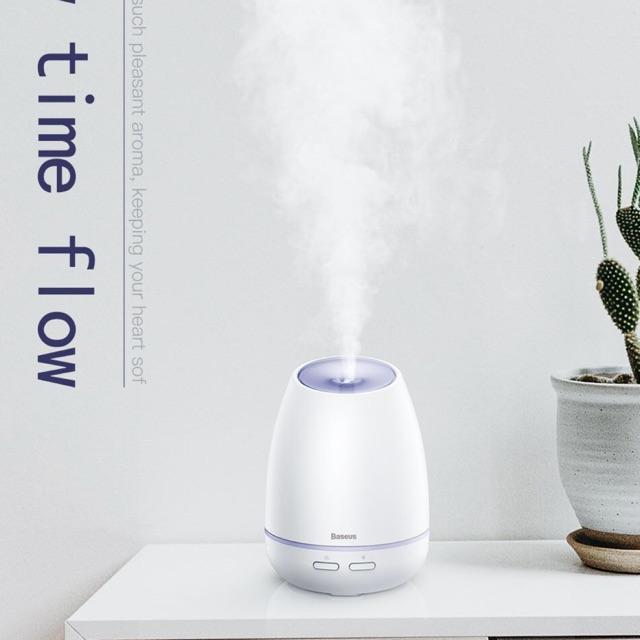 Máy phun sương, tạo ẩm, khuếch tán tinh dầu Mini Baseus Creamy-White