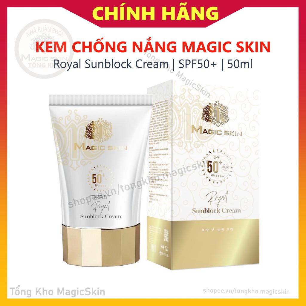 Kem chống nắng Hoàng Cung Magic Skin | Chống nắng dưỡng da