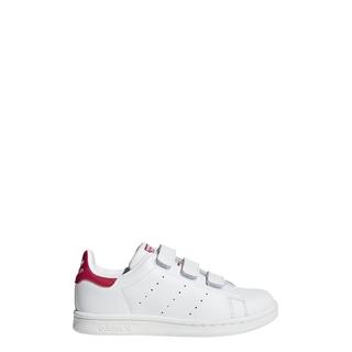 adidas ORIGINALS Giày Stan Smith Unisex trẻ em Màu trắng B32706 thumbnail