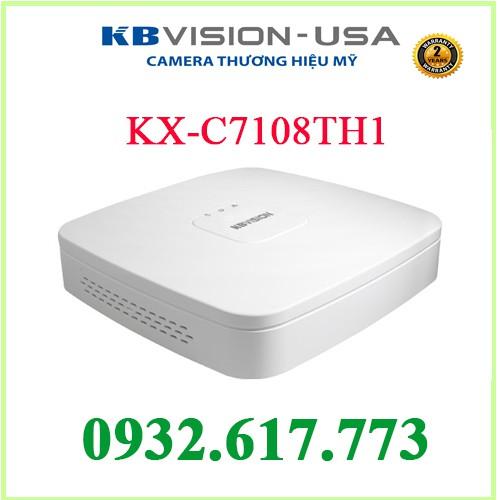 ĐẦU GHI HÌNH KBVISION KX-C7108TH1 H265 (5 IN 1) 8 kênh