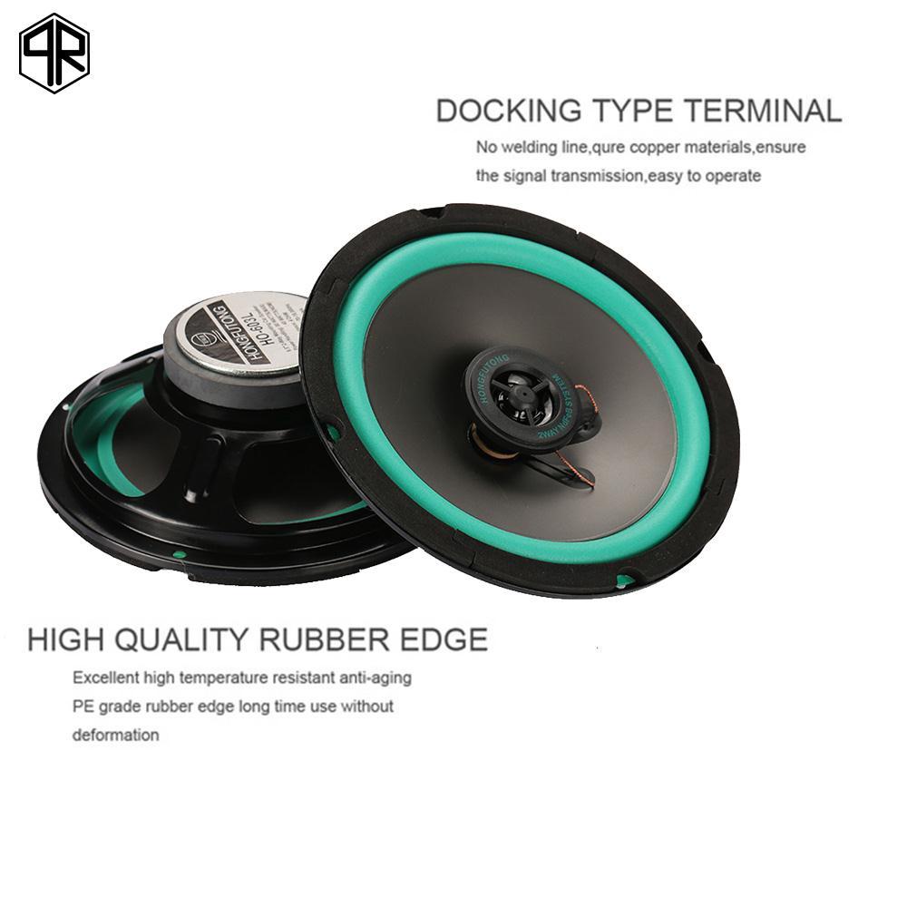 QR Reproducer Stereo 2pcs 6.5 Inch Bubble Porfessional