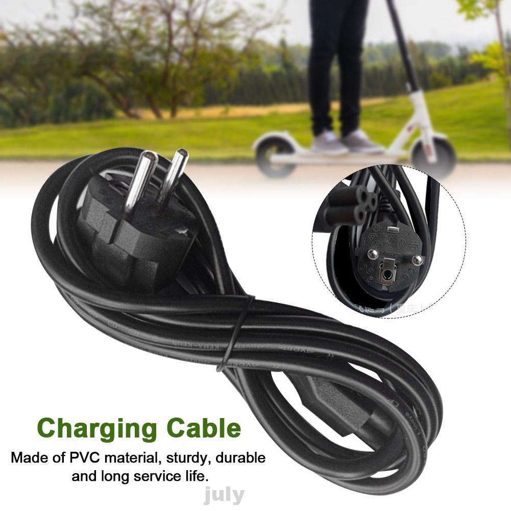 Charging Cable Home Universal Cycling PVC Replacement Parts Anti Corrosion Black Electric Scooter For NINEBOT Max G30