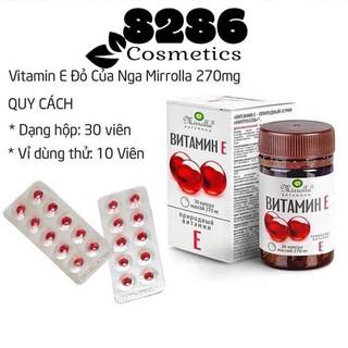 [Có sẵn] Tổng hợp các loại vitamin E 270mg của Nga (chính hãng) thumbnail