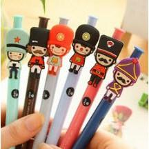 Bút bi nước Bút lính chì bút mực đen bút hoạt hình bút dễ thương bút kute